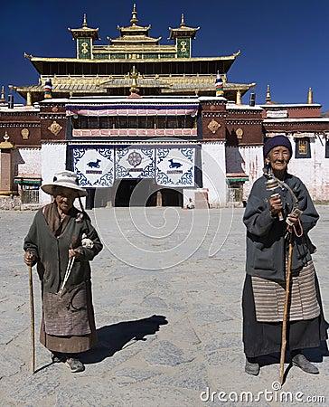 Tibet - Samye Monastery Editorial Stock Image