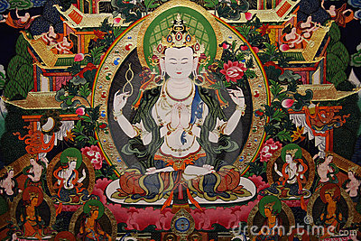 Tibet Thangka Painting