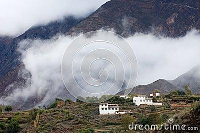 Tibet villlage