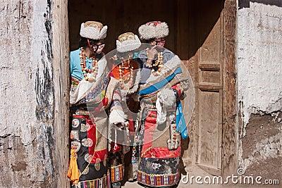 Tibetan Buddhism Editorial Image