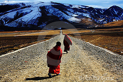 Tibetan Buddhism Editorial Photography