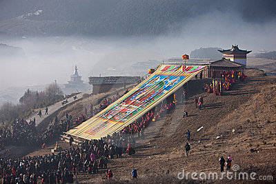 Tibetan Buddhism Editorial Photo