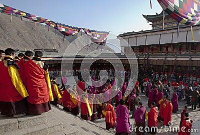 Tibetan Buddhism Editorial Stock Image