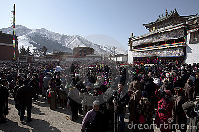 Tibetan Buddhism Editorial Stock Image