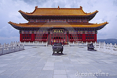Tibetan buddhism hall
