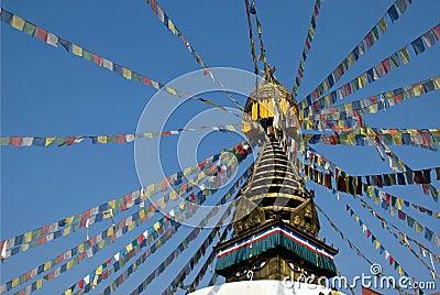 Tibetan Buddhism Stupa