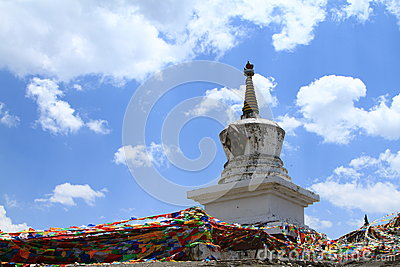 Tibetan buddhism tower