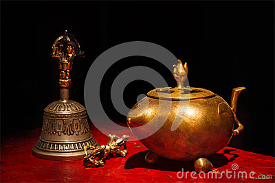 Tibetan buddistisk stilleben