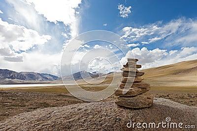Tibetan cairn