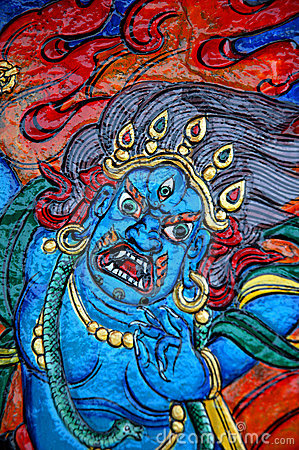 Tibetan Carved