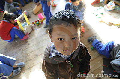 Tibetan Children s Village Editorial Stock Image