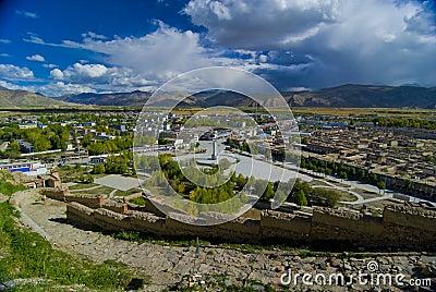 Tibetan city