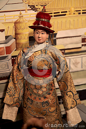 Tibetan doll Editorial Stock Image