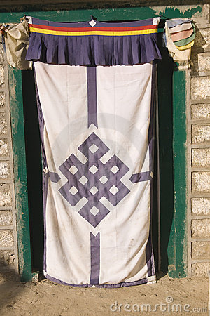 Tibetan Doorway