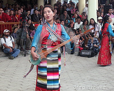 Tibetan Exiles in India Celebrate Dalai Lama s Birthday Editorial Photo
