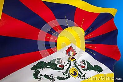 Tibetan Flag - Flag of Free Tibet
