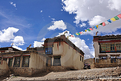 A Tibetan house