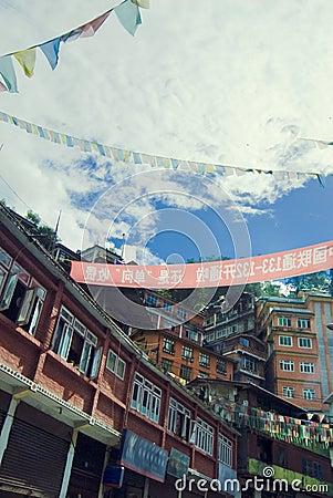 Free Tibetan House Royalty Free Stock Photos - 7816508