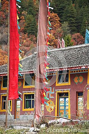 Free Tibetan Houses Royalty Free Stock Photo - 7259895