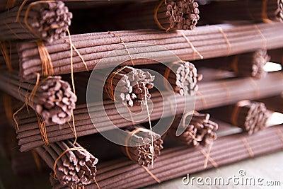Tibetan incense.