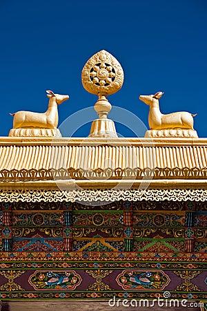 Free Tibetan Monastery Gates Stock Photos - 27695883