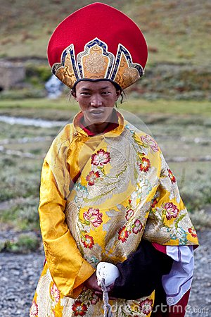 Tibetan nomad Editorial Photo