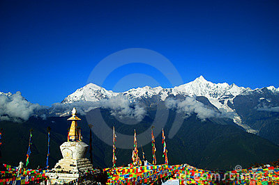 Tibetan Pilgrimage Mountain