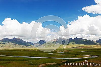 Tibetan plateau wetland