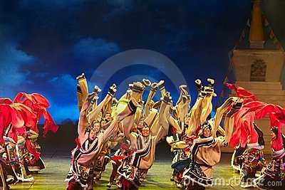 Tibetan riddle Editorial Image
