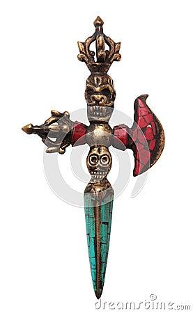 Tibetan Ritual Knife