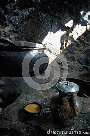 Tibetan salt tea