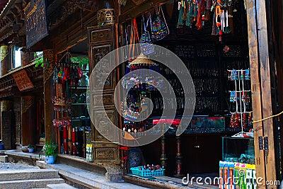 Tibetan shops