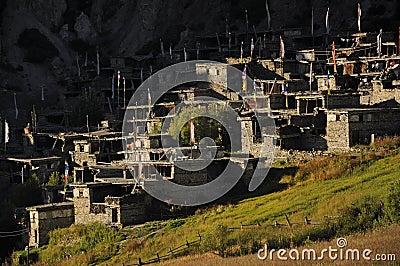 Tibetan stone village, Nepal