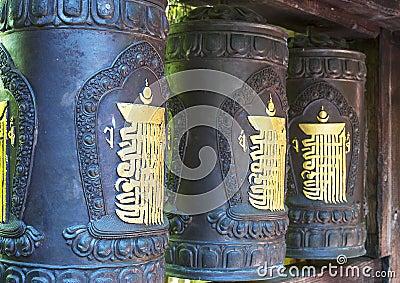 Tibetan wheels