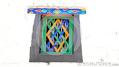 Tibetan window