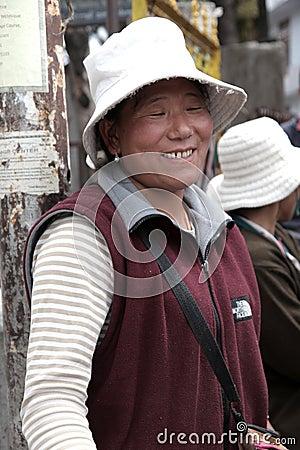 Tibetan women Editorial Image
