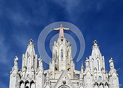 Tibidabo church/temple, Barcelona