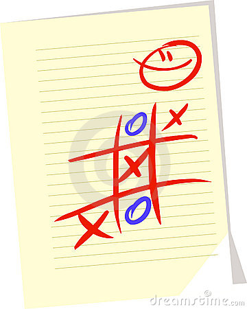 Tic tac toe Vector Illustration