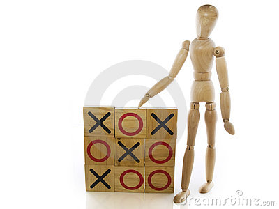 Tic Tac Toe Royalty Free Stock Images - Image: 9691689