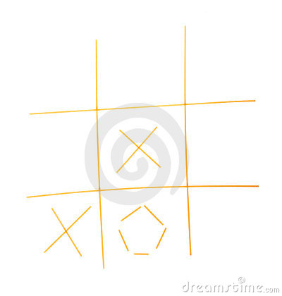 Free Tic-tac-toe Game Royalty Free Stock Images - 17379849