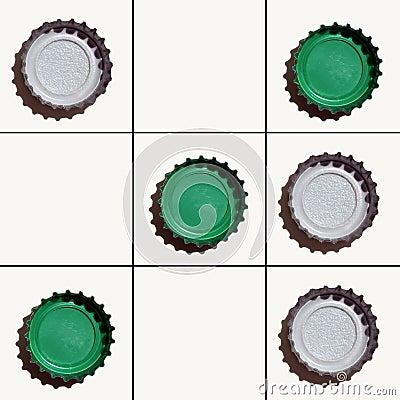 Tic-tac-toe Green