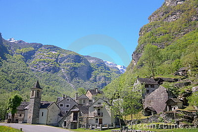 Ticino mountain village