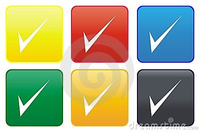 Tick web button