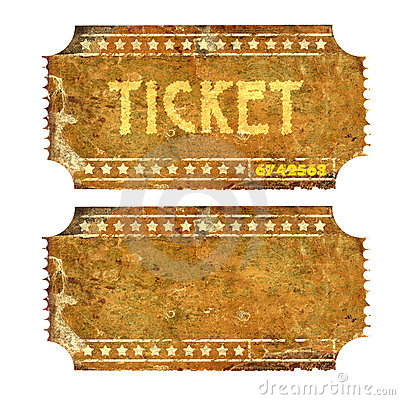 Free Ticket Royalty Free Stock Images - 10570029