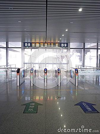 Ticket barrier