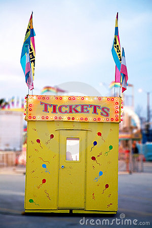 Free Ticket Booth Royalty Free Stock Photos - 13302728