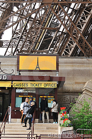 Ticket office Editorial Stock Image