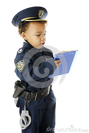 Ticket Writing Cop