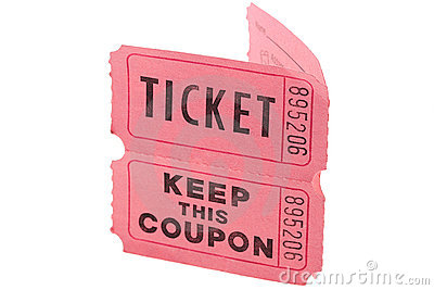Tickets and coupon