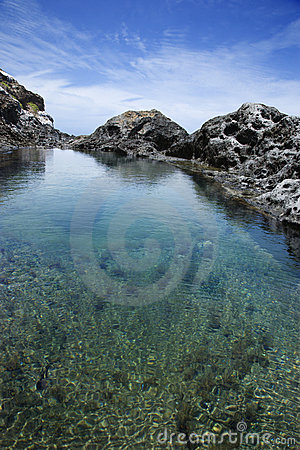 Tidal pool in Maui